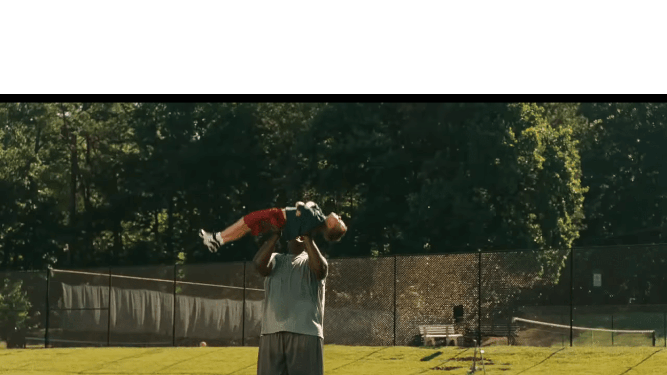 Blind Side - Die große Chance Screenshot Youtube Trailer
